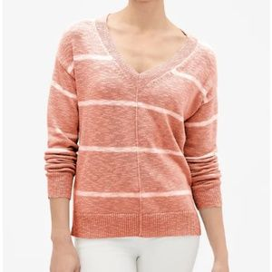 NEW GAP V-Neck Drop-Shoulder Sweater